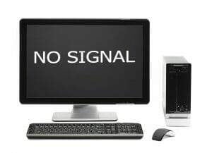 computer screen no signal