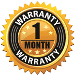 one month warranty
